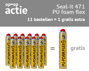 gratis 12e Connect Seal-it 471 PU foam flex op kitcentrum.nl