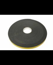 Dubbelzijdig tape 10x3mm grijs rol 25mtr