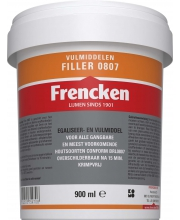 Frencken Filler 0807 Pot 900ml wit