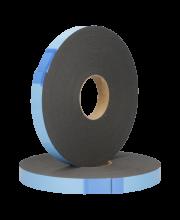 Kruisroedentape 4x25mm Zwart rol 20mtr