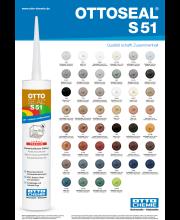 Ottoseal S51 Kleurenkaart
