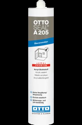 Ottoseal Acrylaatkit RAL 9010 310ml
