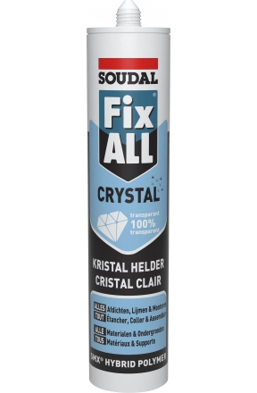 Soudal Fix All Crystal 290ml