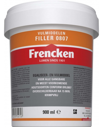 Frencken Filler 0807 Pot 900ml wit