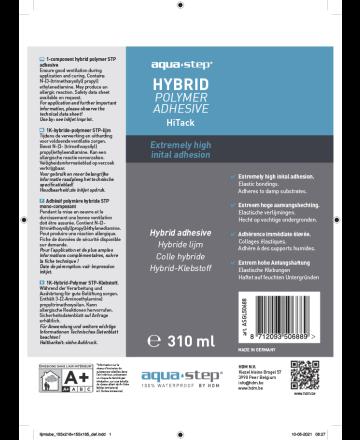 HDM Aquastep Hybrid Polymer Adhesive Hitack