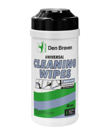 Den Braven Cleaning Wipes pot 80st