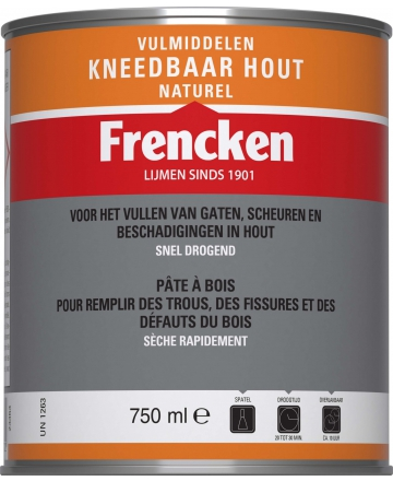 Frencken Kneedbaar Hout 750ml