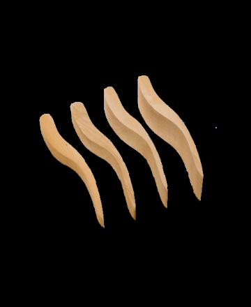 Afwerkhoutje per stuk