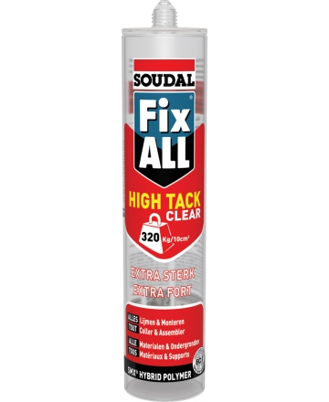 Soudal Fix All High Tack Clear 290ml