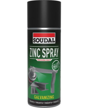 Soudal Zinc Spray 400ml