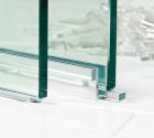 Transparante glasblokjes