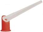 Ramsauer Draaibare tuit rood/wit p/st