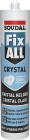 Soudal Fix All Crystal 290ml p/st