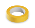 Washi tape Geel JFP 050 25mm p/rol 50mtr