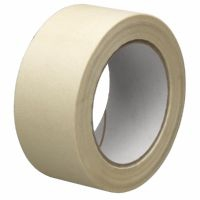 Masking tape 25mm p/rol 50mtr