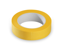 Washi tape Geel JFP 050 50mm p/rol 50mtr