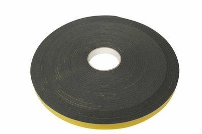 Dubbelzijdig tape 3x10mm rol 25mtr