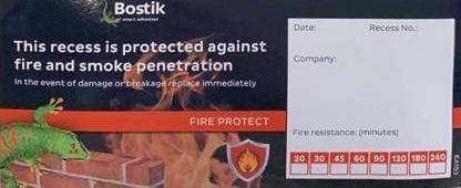 Bostik FP Sealing Sticker