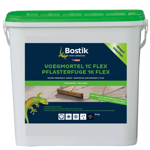 Bostik Voegmortel 1C Flex 15kg emmer