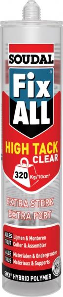 Soudal Fix All High Tack Clear 290ml