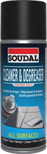 Soudal Cleaner & Degreaser 400ml