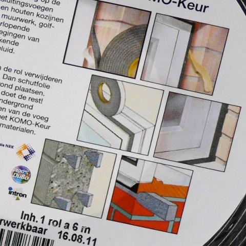 Zwaluw Compressband 10x3mm rol/10mtr