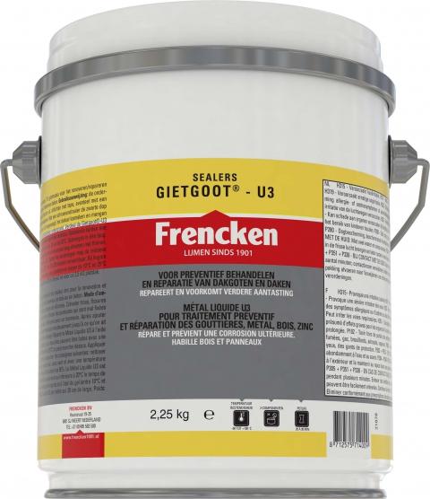 Frencken Gietgoot U3 set 2,25kg