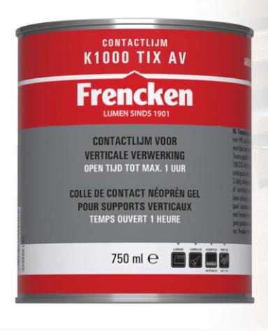 Frencken Contactlijm K1000 TIX AV