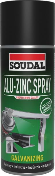 Soudal Alu-Zinc Spray 400ml