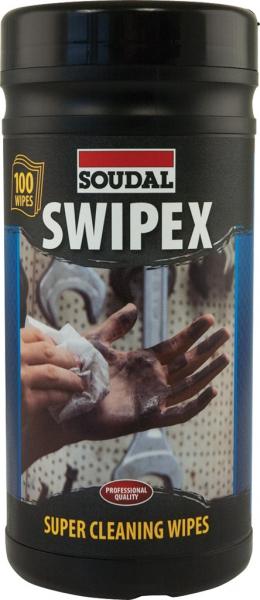 Soudal Swipex Wipes 100st